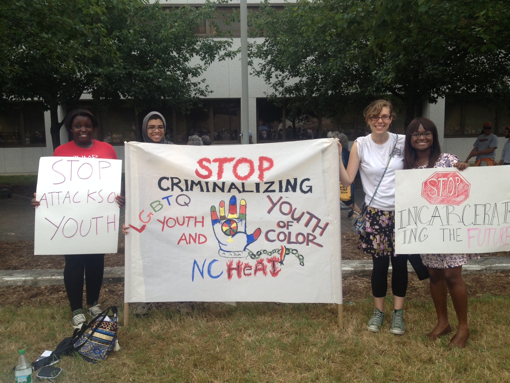 NC HEAT & the Youth Organizing Institute bring their message to Moral Mondays for the 4th week!