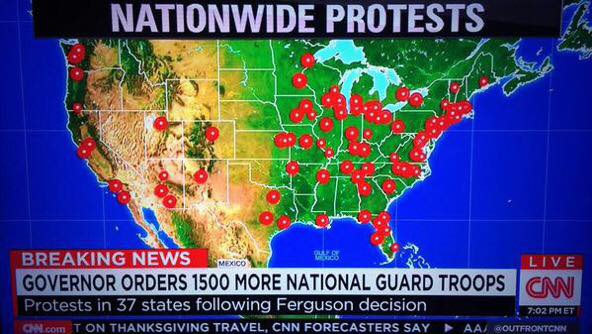 nationwide protests