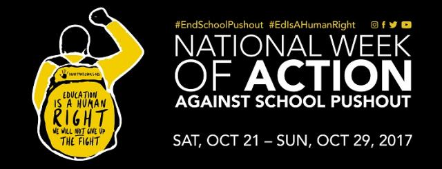 2017 National Week of Action Banner